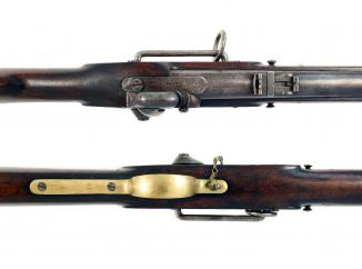 An Incredibly Scarce P61 Percussion Carbine
