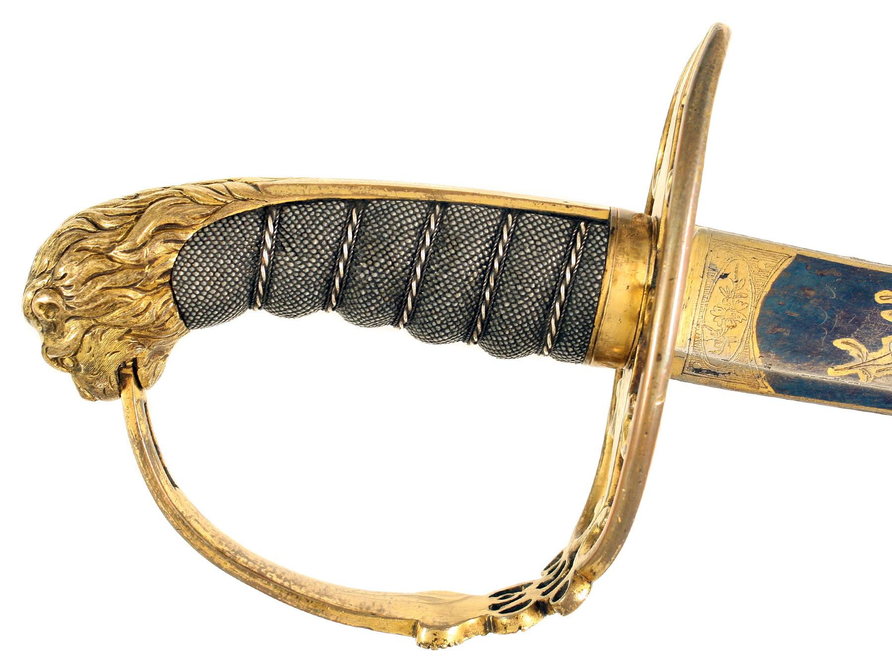 An 1803 Pattern Infantry Officer's Sword