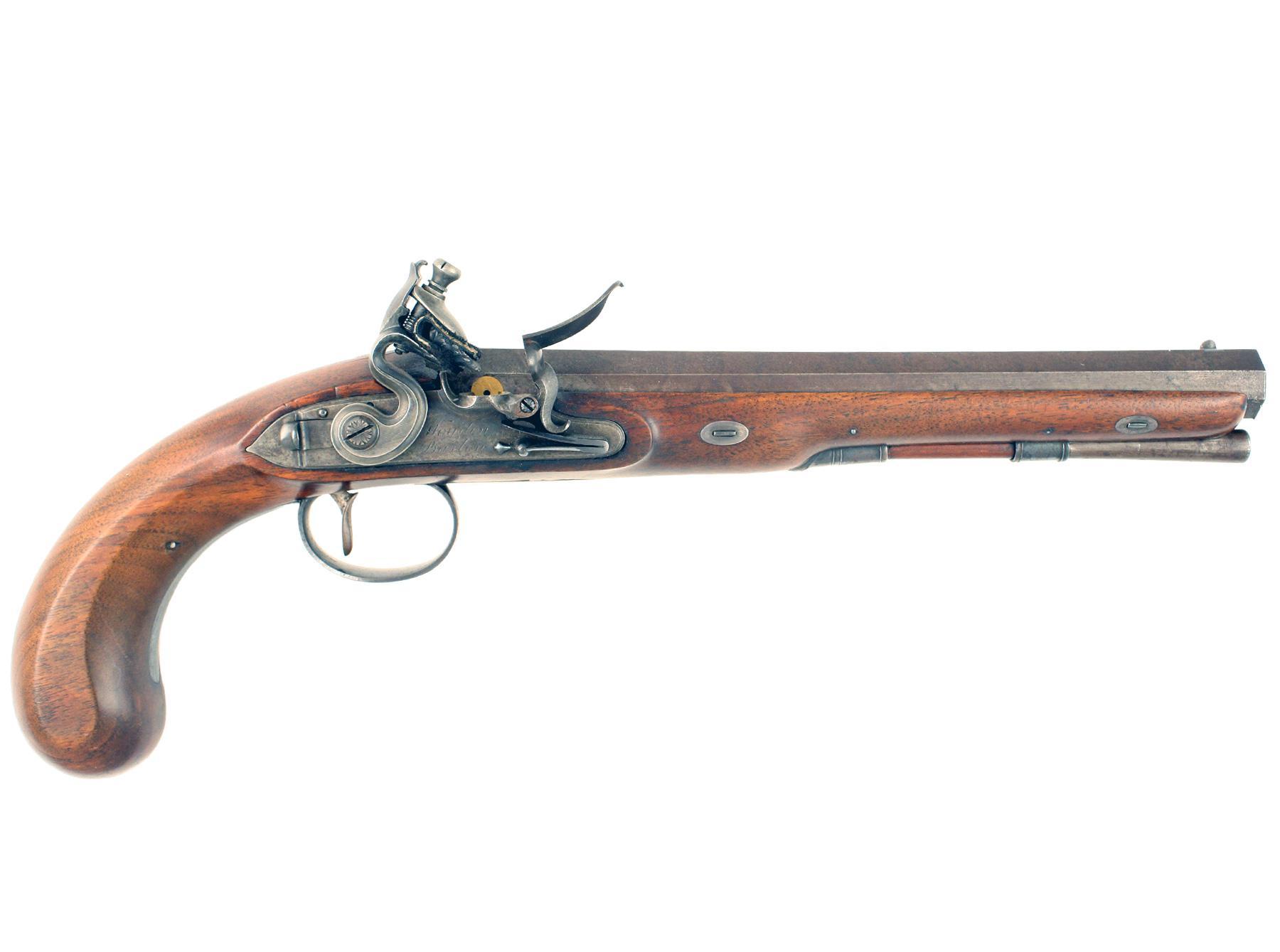 A Fine Duelling Pistol by Wogdon & Barton