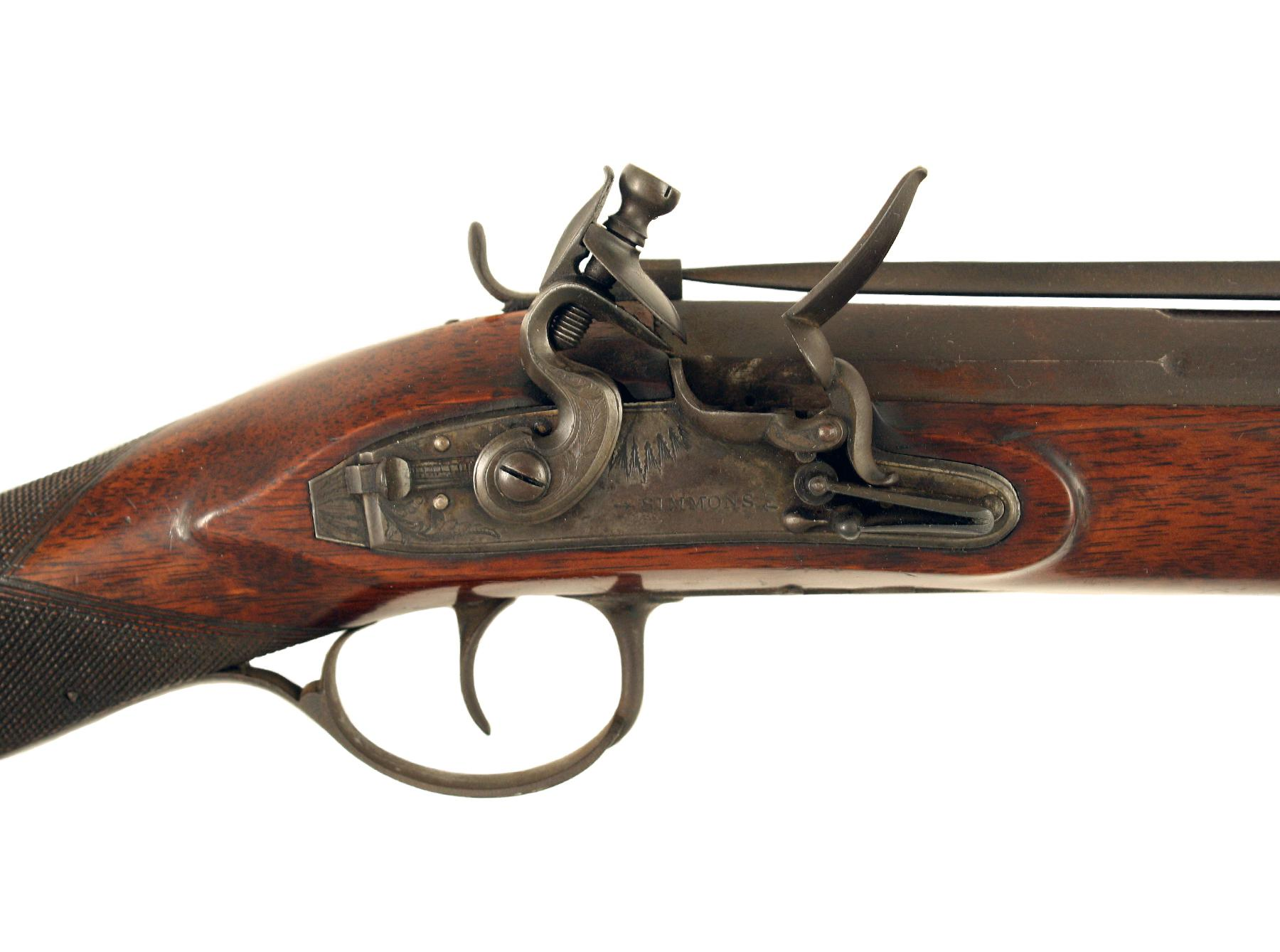 A Superb Steel Barrelled Blunderbuss