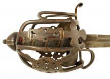 A Basket Hilted Sword.