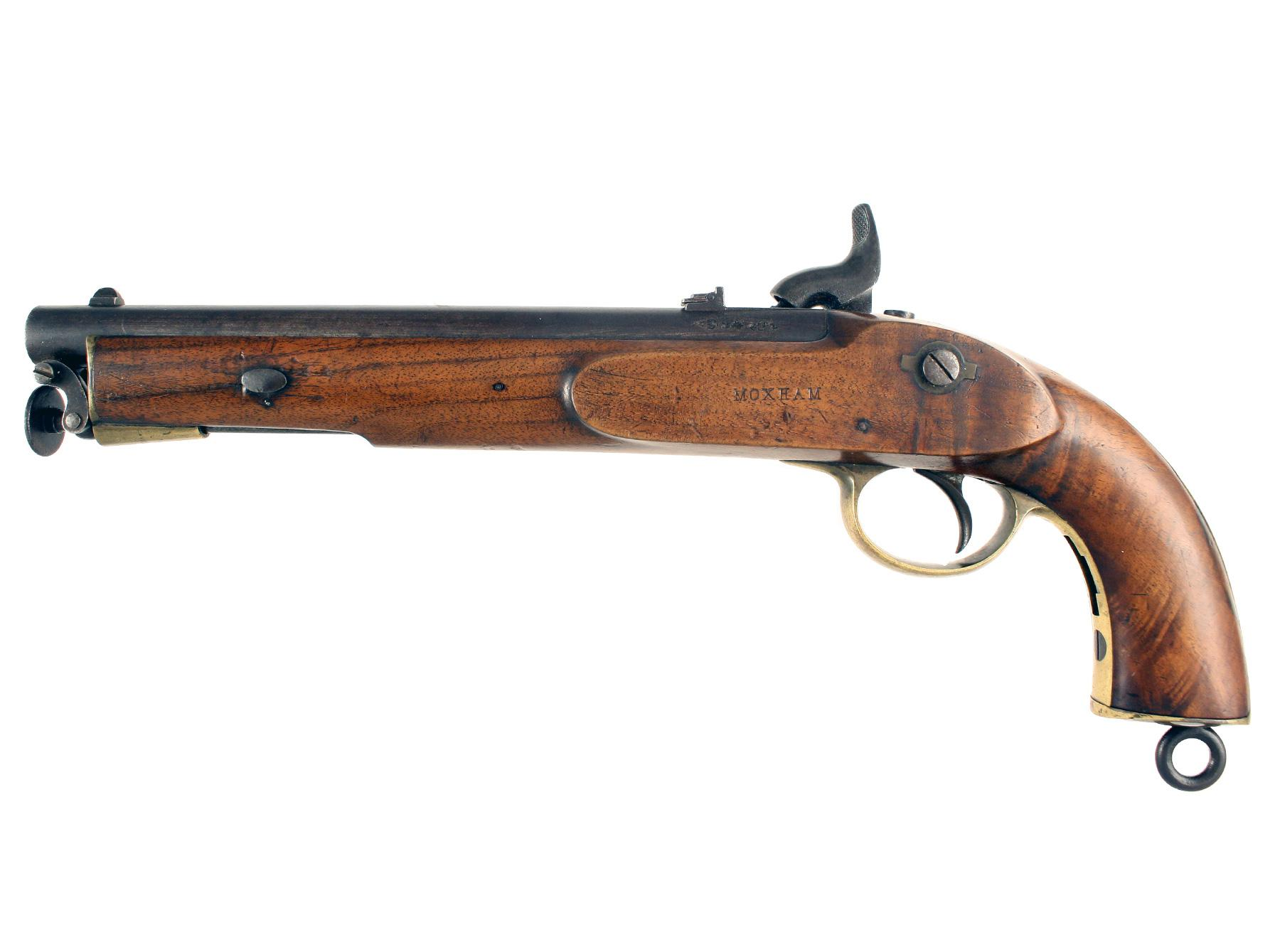 A Scarce Lancers Pistol with Shoulder Stock