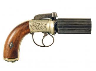 A Pepperbox Revolver