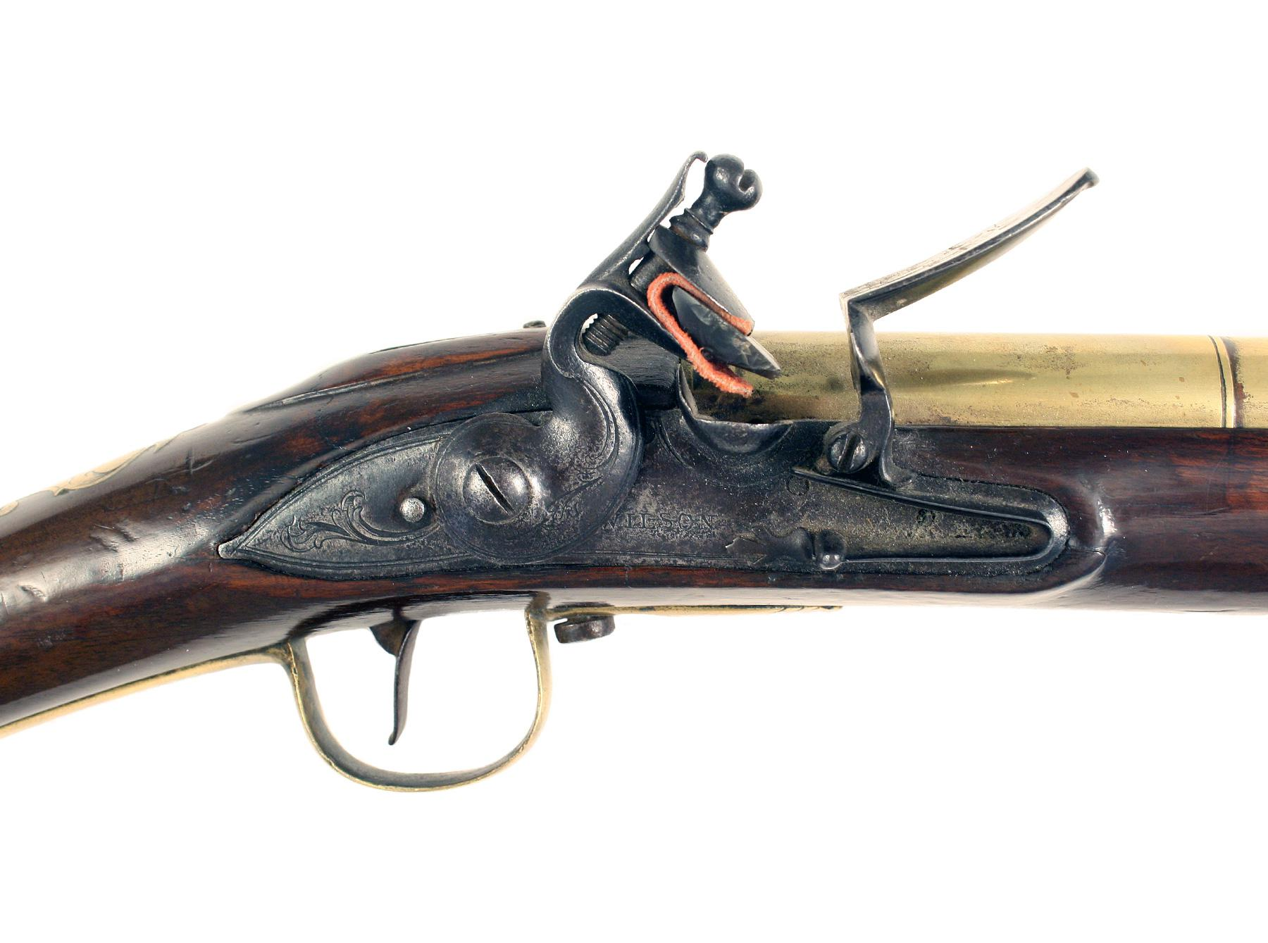 An Early Brass Barrelled Blunderbuss by Wilson of London