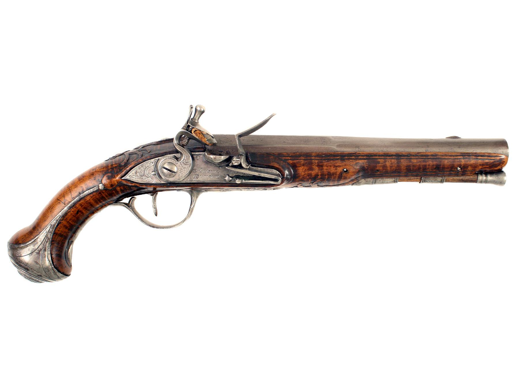 A French Flintlock Pistol