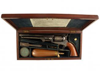 A Cased London Colt