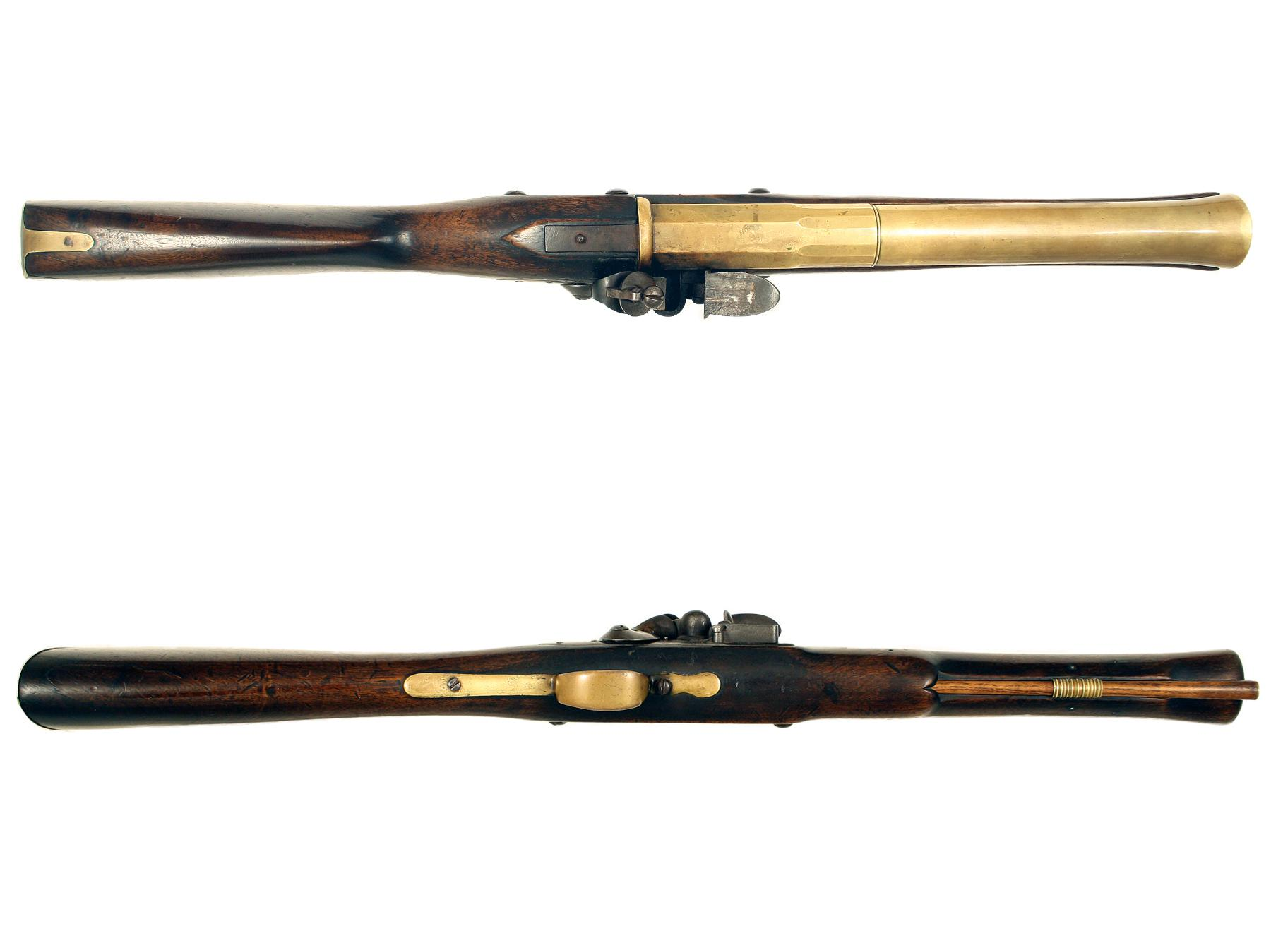 An Early Flintlock Blunderbuss by Moore