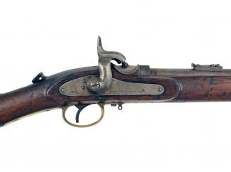 A Westley Richards 'Monkey Tail' Carbine