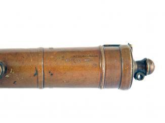 A Bronze Cannon Barrel, 19th Century.