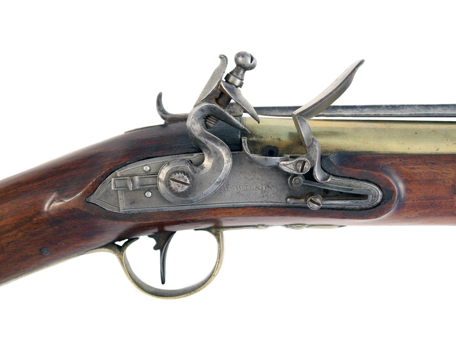 A Flintlock Blunderbuss by Wilson of London