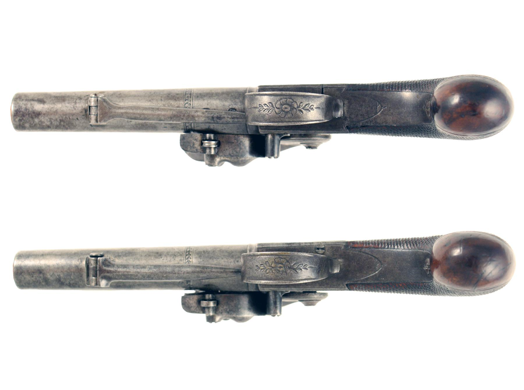A Pair of Pocket Pistols by Parker