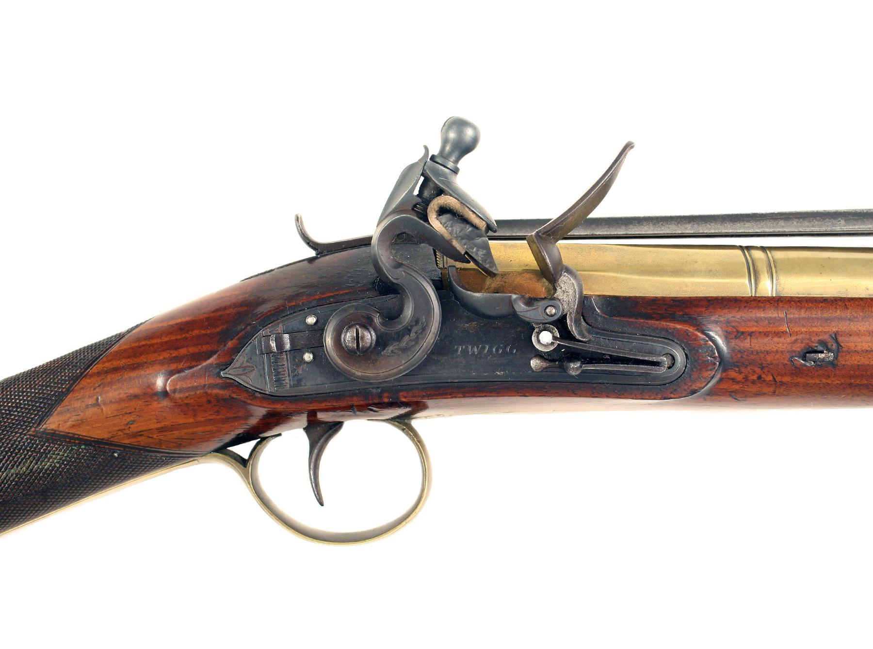 A Superb Brass Barrelled Flintlock Blunderbuss by Twigg of London