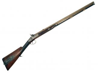A Percussion Rifle by Manton