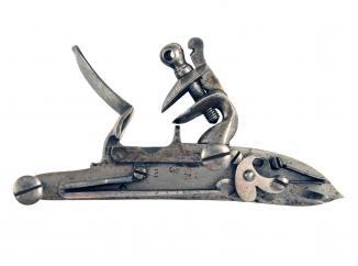 A Flintlock Brownbess Lock
