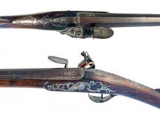 A Sporting Gun by Newton of Grantham, Circa 1755