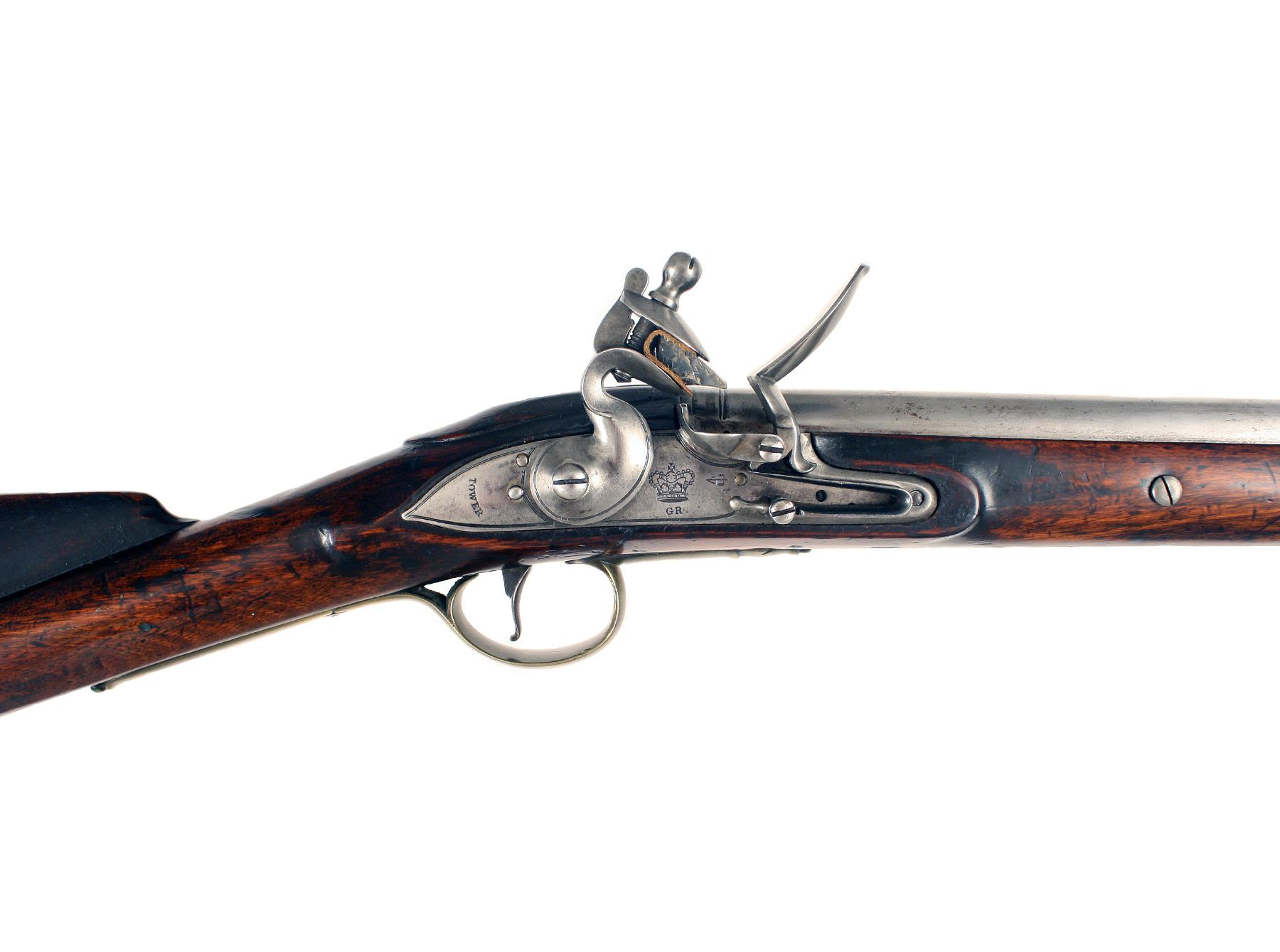 A Superb Flintlock Eliotts Carbine