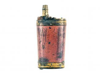 An Untouched Dixon Three-Way Powder Flask