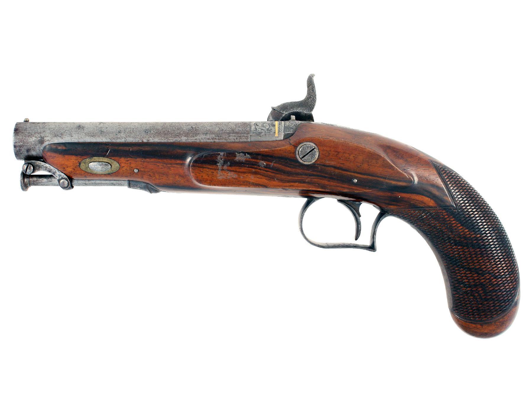 A Cased Pair of Presentation Pistols