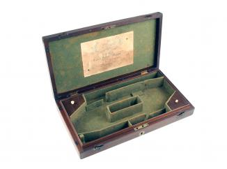 A Pistol Box by Lang
