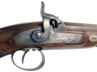 A Superb Pair of Cased Percussion Pistols