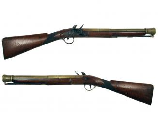 A Flintlock Blunderbuss by Wilkinson