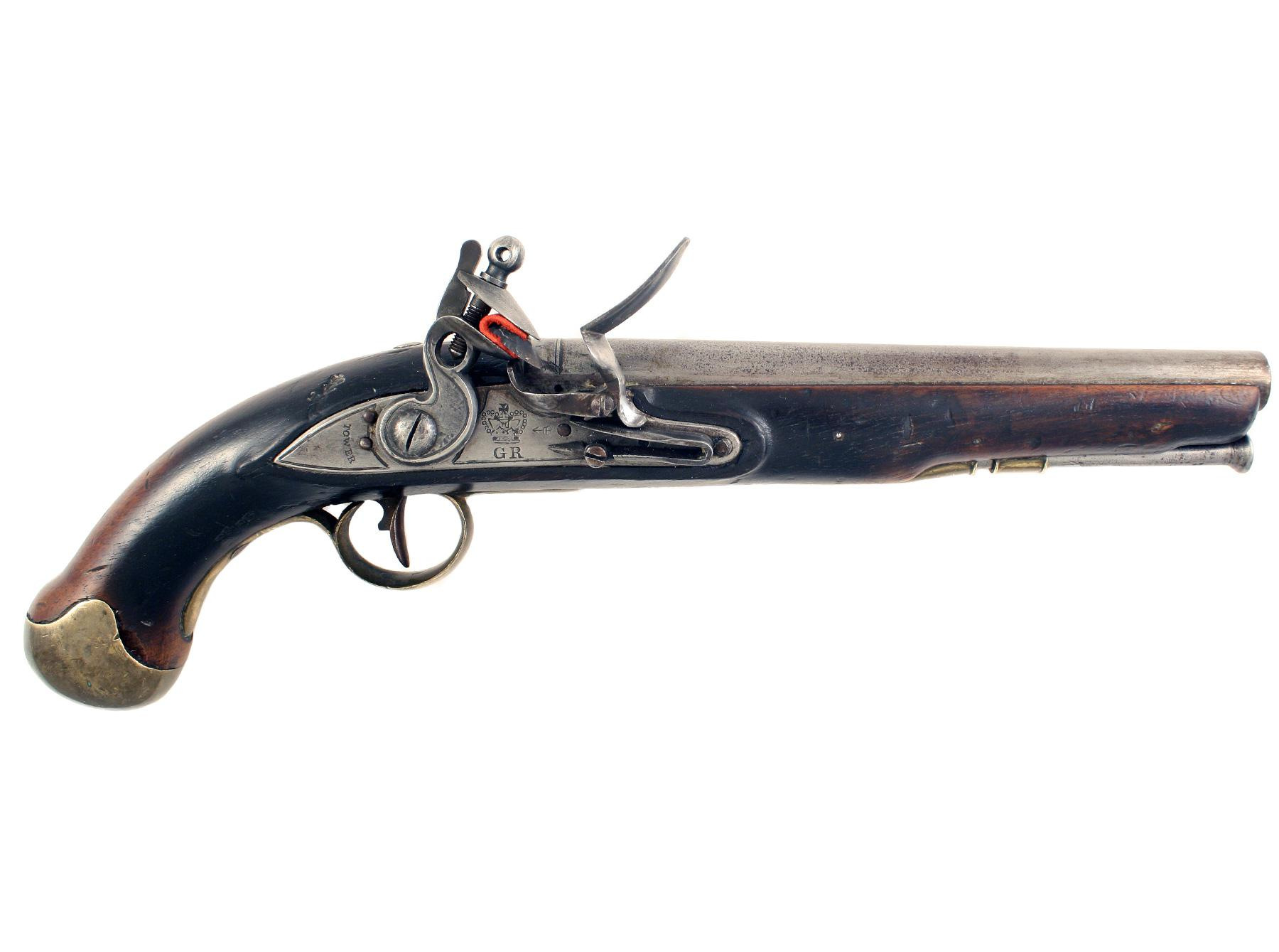 A Very Rare Pattern 1821 Sea Service Pistol