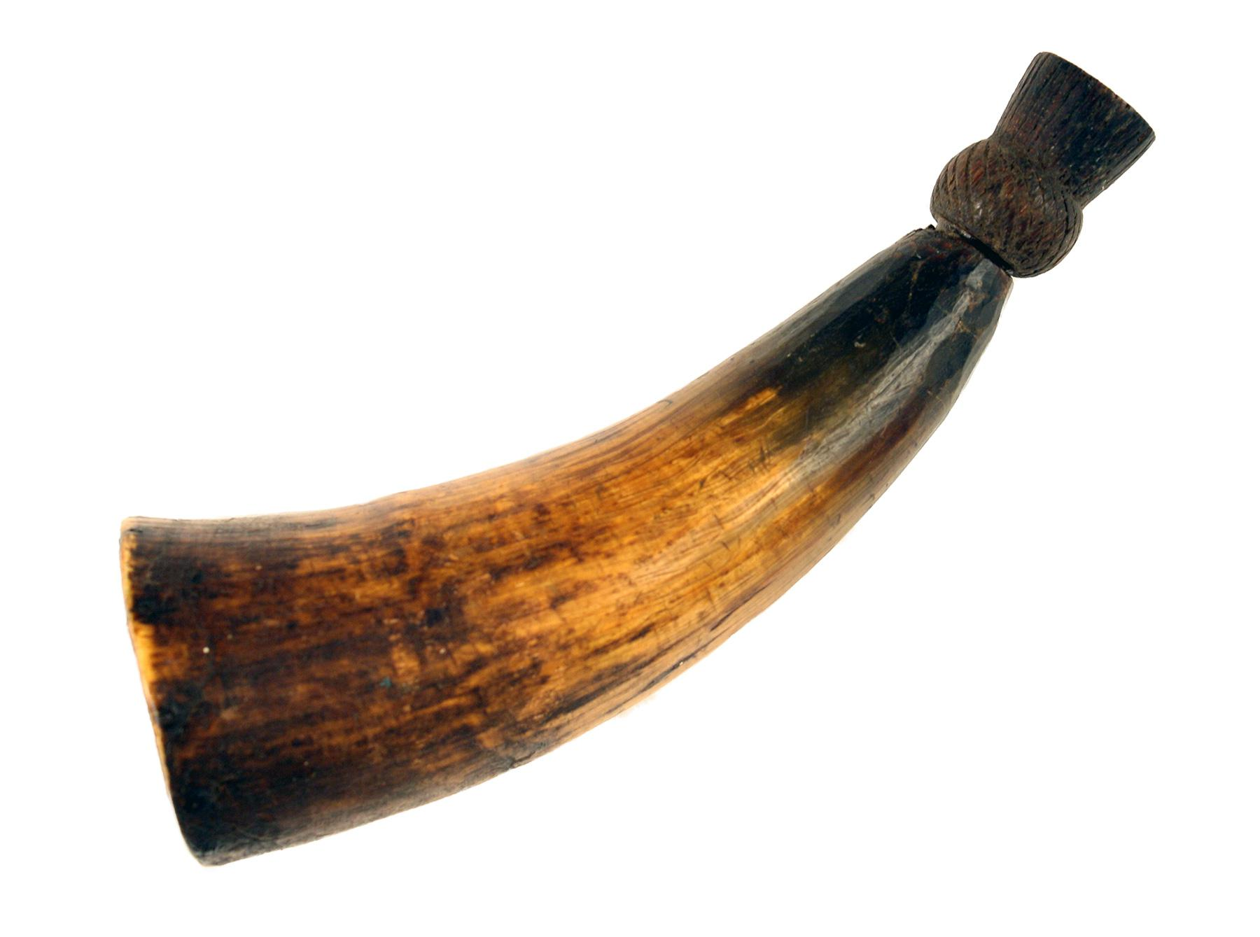 A Scottish Powder Horn