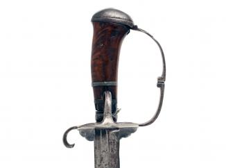 A Superb Pistol-Grip Hanger, circa 1630
