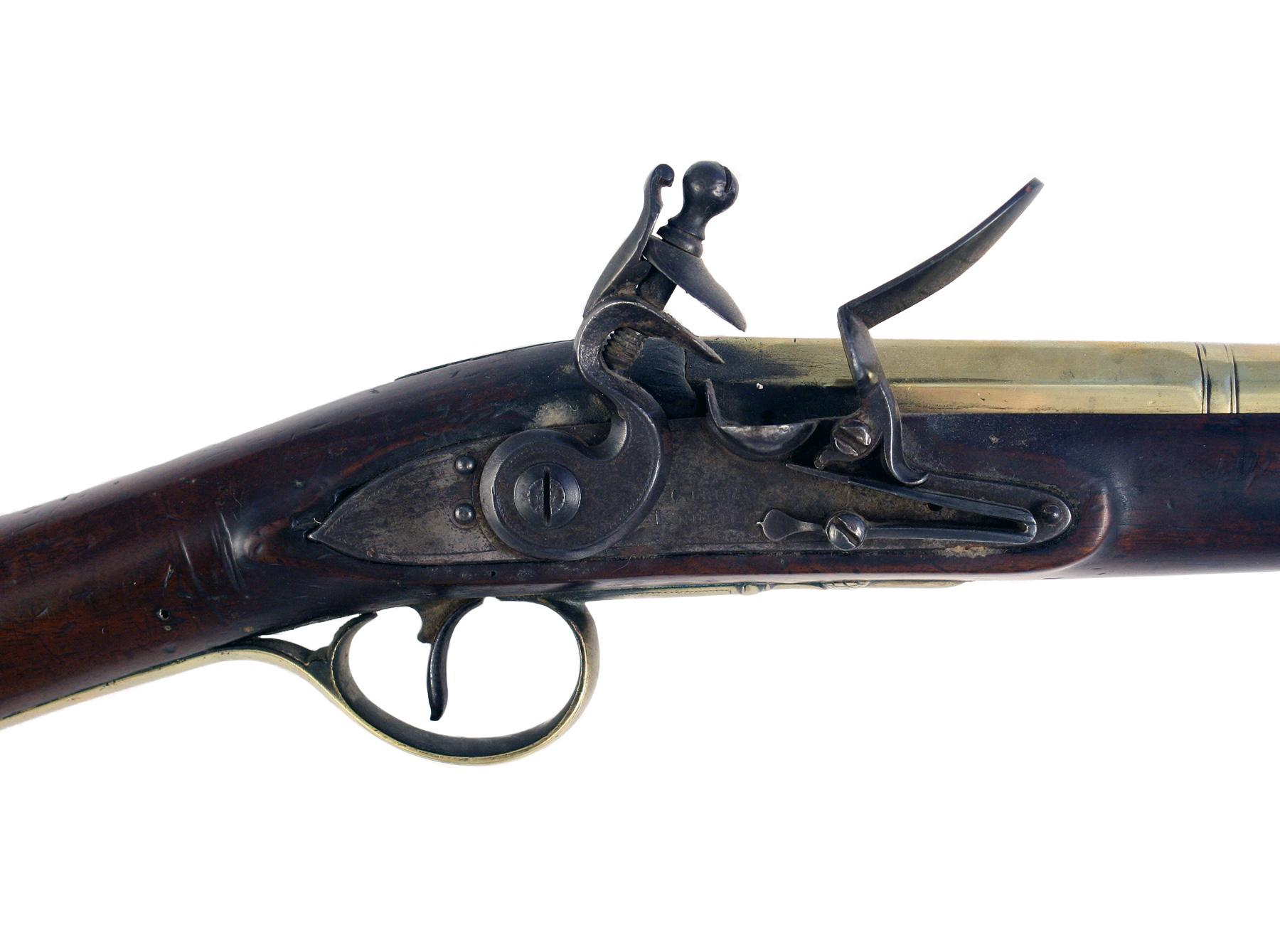 A Flintlock Blunderbuss by Gill & Knubley