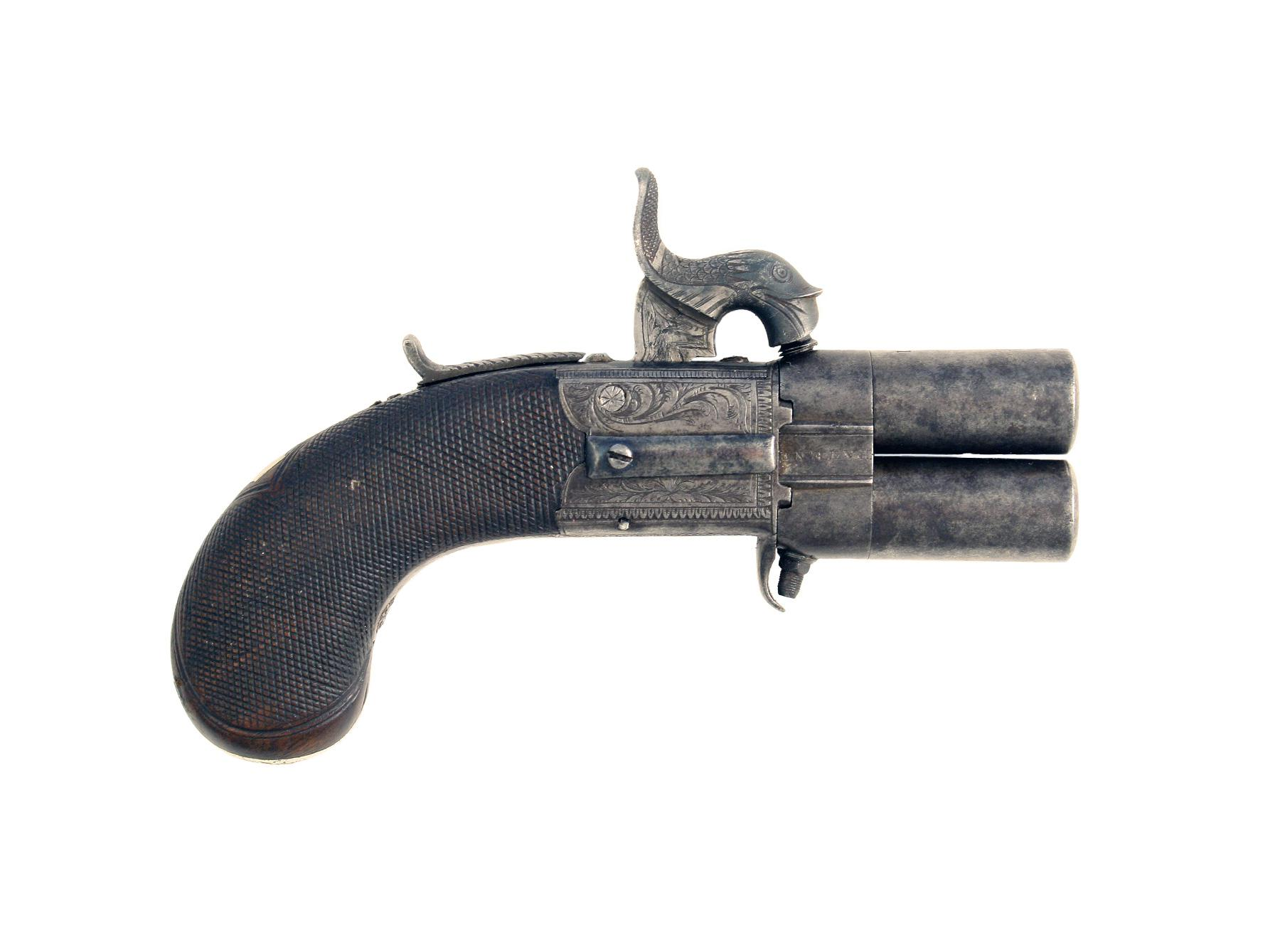 A Small Turn-Over Pistol by Lang