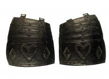 A Fine Quality Pair of Victorian Tassets
