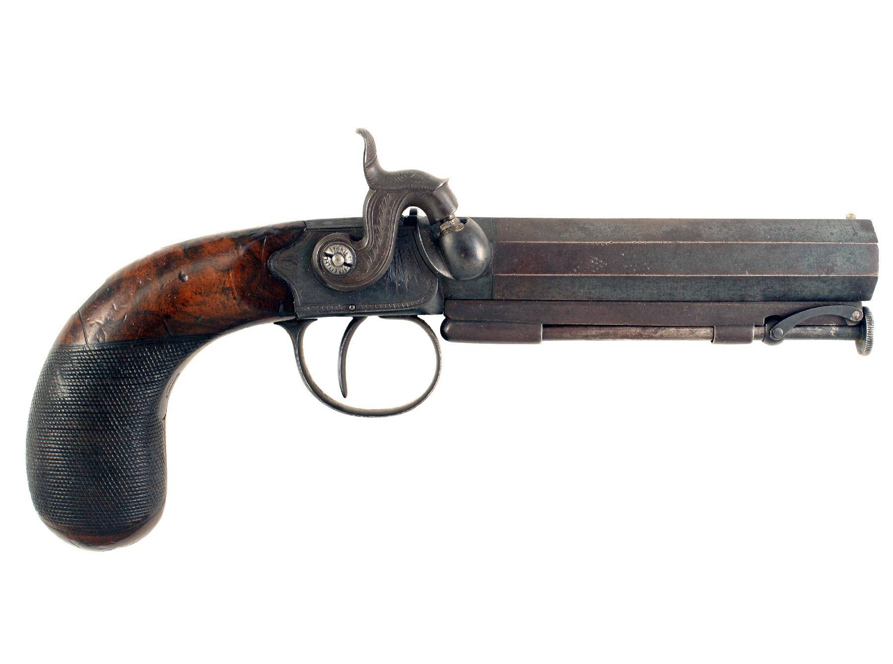 An Overcoat Pistol by Kavanagh of Dublin