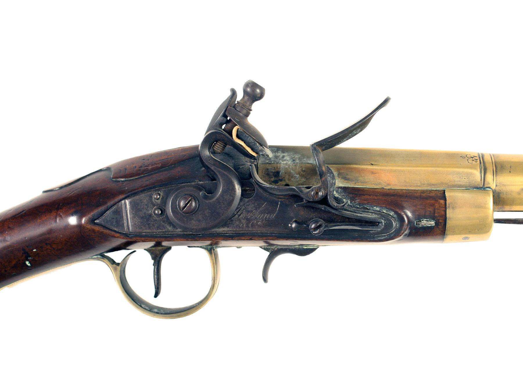 A Flintlock Blunderbuss by Ketland