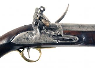 A Flintlock East India Company Pistol