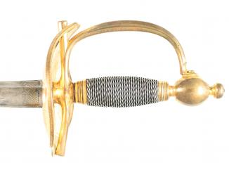 A 1796 Heavy Cavalry Officers Dress Sword