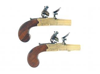 A Crisp Pair of Pocket Pistols by Bond