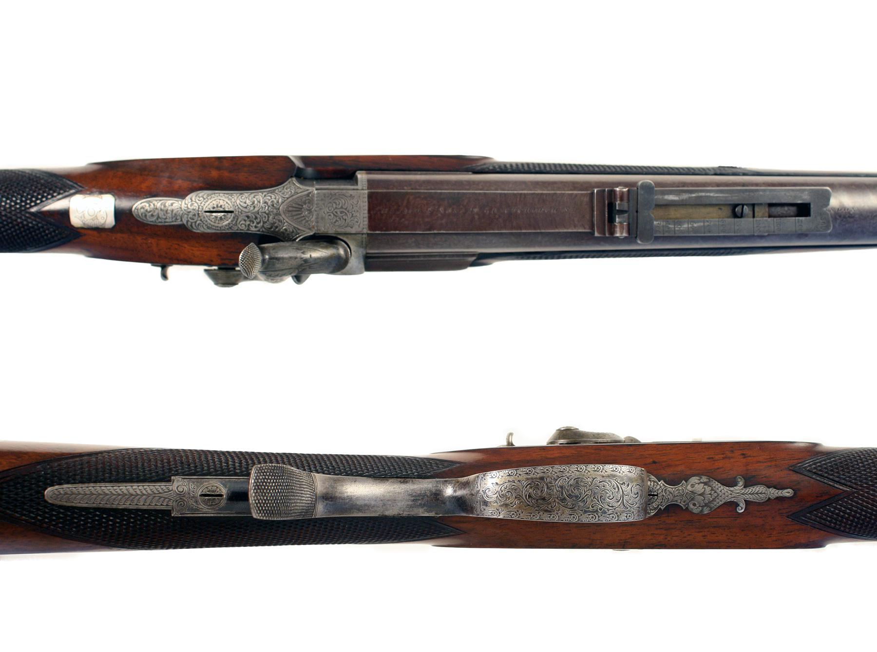 .577 Percussion Sporting Rifle by J. Blanch
