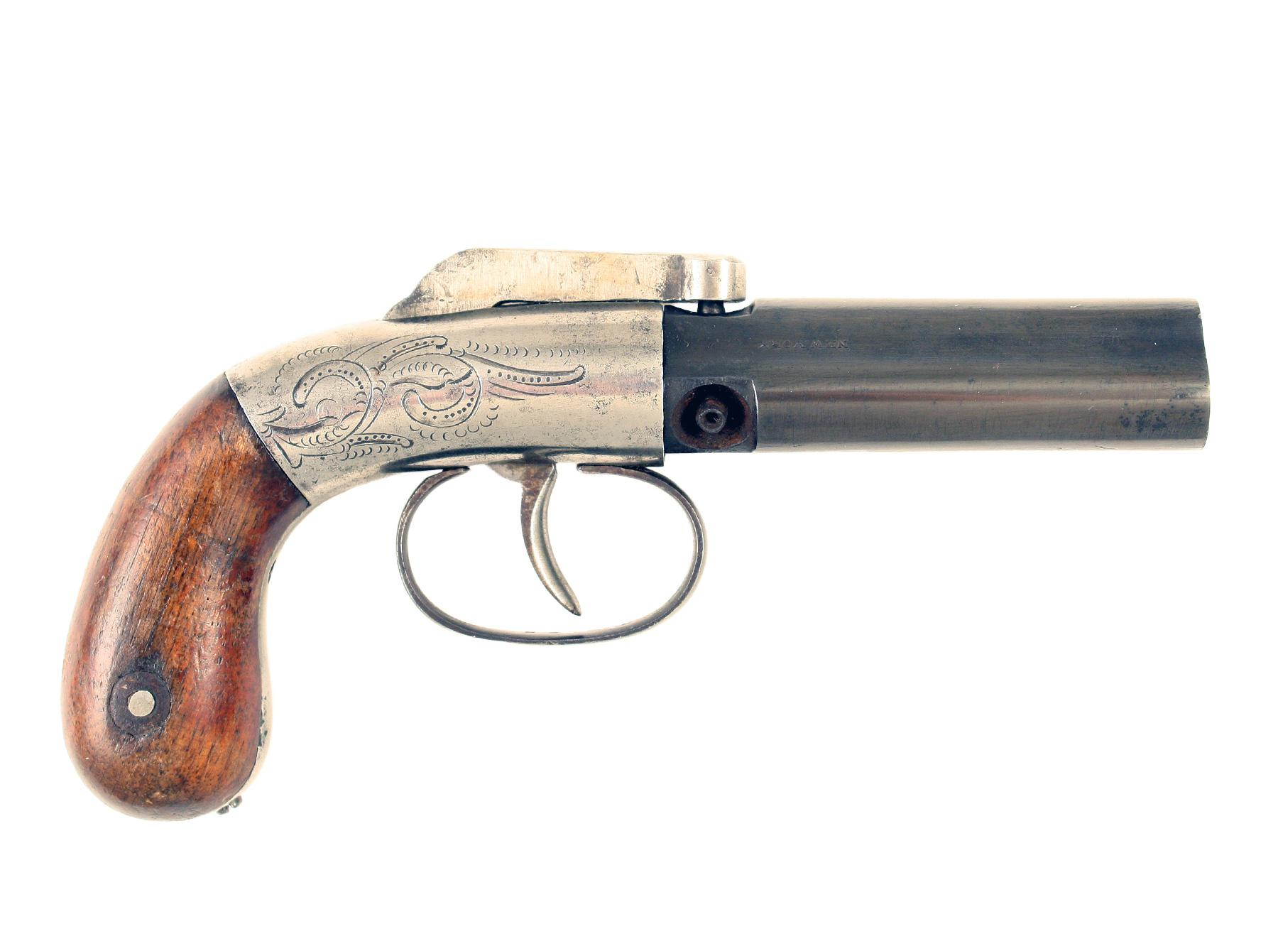 A 3 Barrel Manhattan Revolver