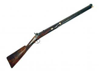 A Percussion Rifle by Elwell of Birmingham