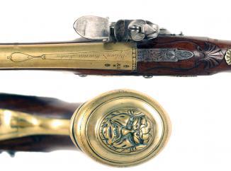An Outstanding Flintlock Blunderbuss Pistol