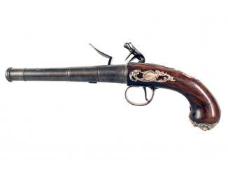 A Crisp Pair of Queen Anne Pistols