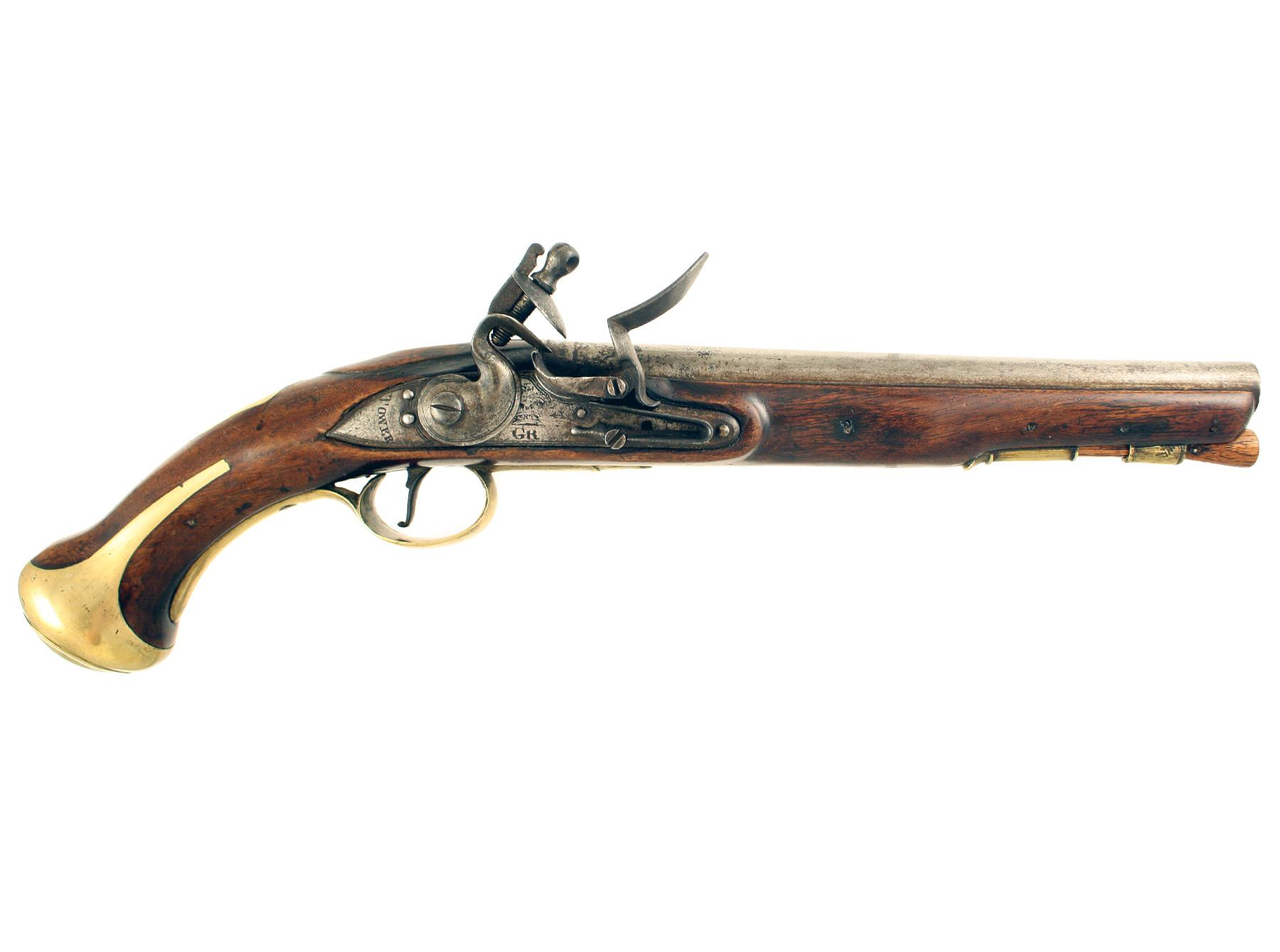 A Regimentally Marked Flintlock Dragoon Pistol