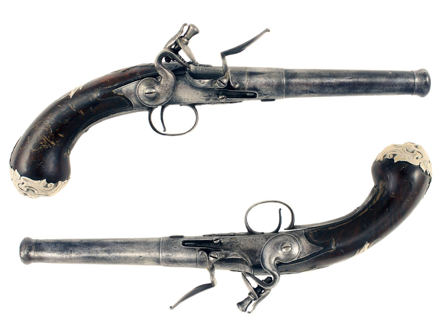 A Pair of Queen Anne Pistols
