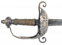 An English Rapier, 17th Century.