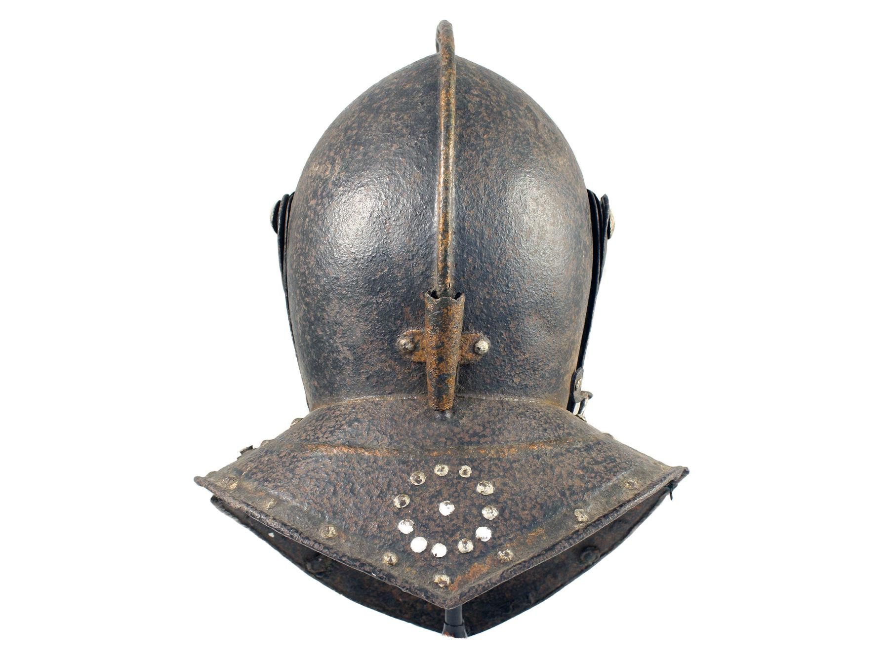 A Funerary Helm, 17th Century