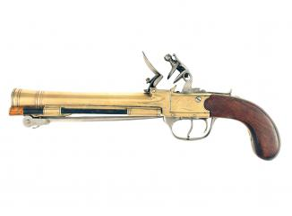 A Waters & Co. Patent Blunderbuss Pistol