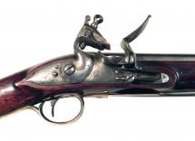 An Incredibly Scarce Flintlock Spear Carbine