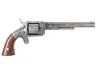 A Scarce .38 Rim-Fire Six-Shot Bacon Revolver.