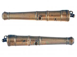 A Brass Cannon Barrel, 19th Century.