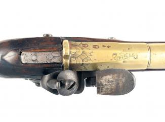 An Early Flintlock Blunderbuss by Spencer
